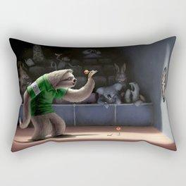 Sloth Darts Rectangular Pillow