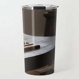 A Thinking Man's Game Fort Stanton New Mexico Travel Mug