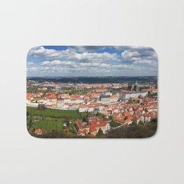 Prague Panorama Bath Mat