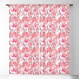 Flamingo Flamboyance Blackout Curtain