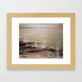 Coastal Spritz Framed Art Print