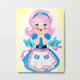 Cutie's Kitchen Surprise Metal Print