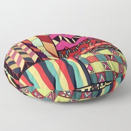 African Style No18 Floor Pillow