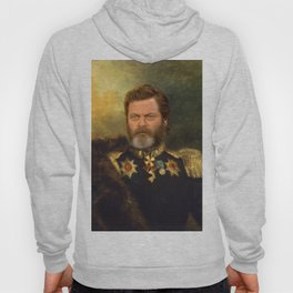 Nick Offerman Classical Painting Photoshop Hoody