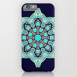 Oriental star iPhone Case