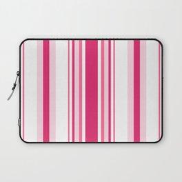 Pink 'alicious Stripes Laptop Sleeve