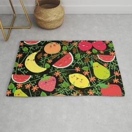 Multiple fruits Rug