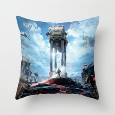Battlefront Throw Pillow