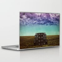 sonic Laptop & iPad Skins featuring Sonic Field by Liall Linz