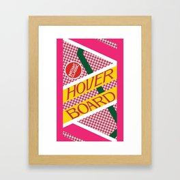 BTTF Hover Board Framed Art Print