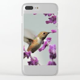 Slipping in for Another Sip Clear iPhone Case