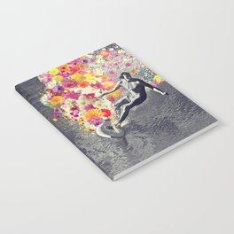 Flower surfing Notebook