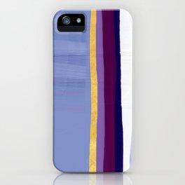Violet purple iPhone Case