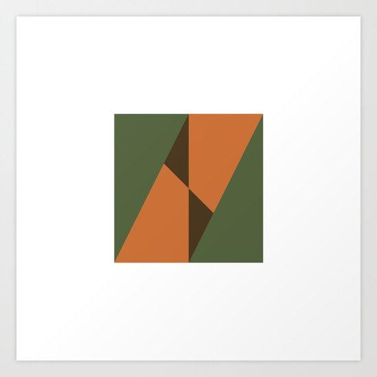 #343 Cuts – Geometry Daily Art Print