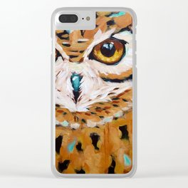 Hunter's Stare Clear iPhone Case