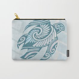 Hawaiian Tribal Turtle Carry-All Pouch