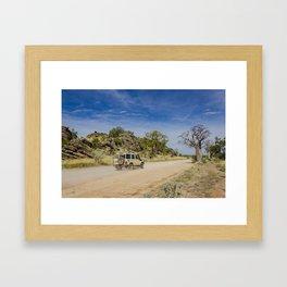 Leopold Downs Road Framed Art Print