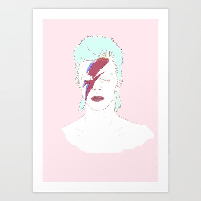 Bowie Art Print