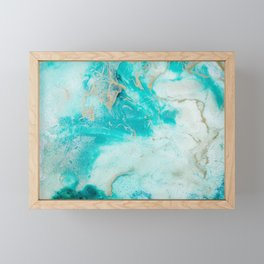 "Tides of Change | ""Sand Bar"" (1) Framed Mini Art Print"
