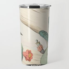 Woodpeckers And Cacti Travel Mug