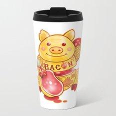 Lucky Pig Metal Travel Mug