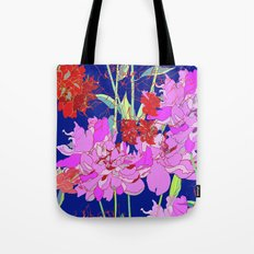 Oriental Bloom Tote Bag
