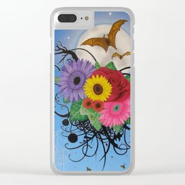 Bats at Night Clear iPhone Case