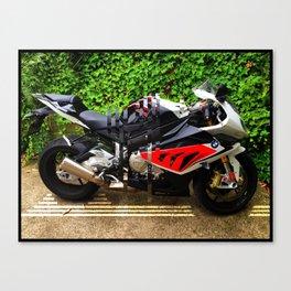 S1000RR Motorbike Canvas Print