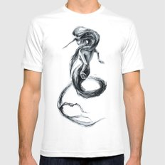 Thalassa Mens Fitted Tee MEDIUM White