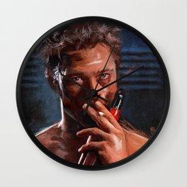 Tyler Durden - Leading Project Mayhem Wall Clock