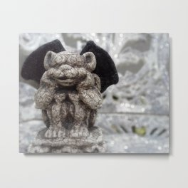Little Gargoyle Metal Print