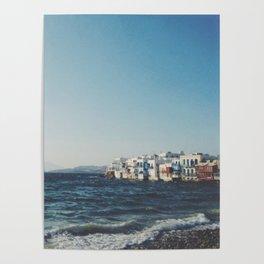 Mykonos, Greece Poster