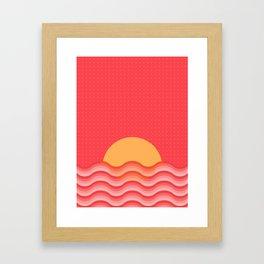 Patterned 3B Framed Art Print