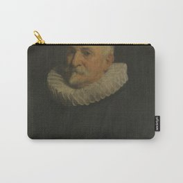 Anthony van Dyck - Portrait of an unknown 70 year old man Carry-All Pouch