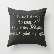 Dream Stalker Throw Pillow
