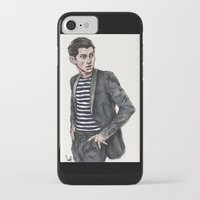 alex turner iPhone & iPod Cases featuring Alex Turner  by vooce & kat