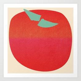 Japanese Apple Art Print