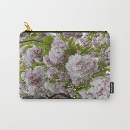 Cherry Blossom Poms Carry-All Pouch