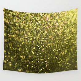 Mosaic Sparkley Texture Gold G188 Wall Tapestry