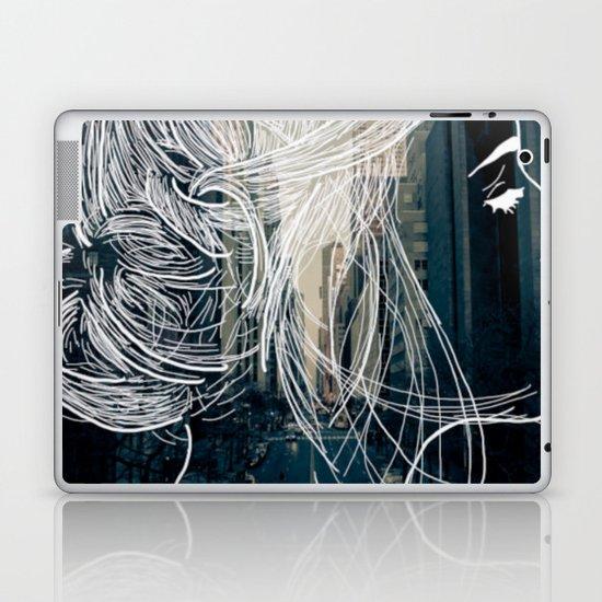 The woman who never sleep Laptop & iPad Skin