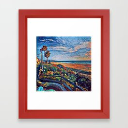 Coastal View Two Framed Art Print