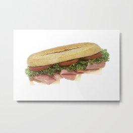 Deli Sandwich Metal Print