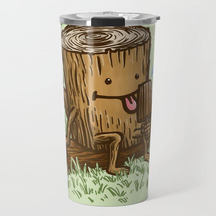 The Popsicle Log Travel Mug