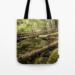 McKenzie River Trail No 1 Tote Bag