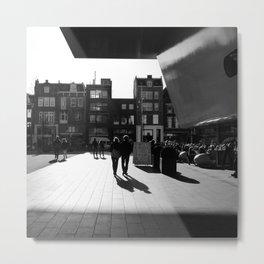 Love in Amsterdam City Metal Print