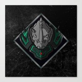 Beast Warrior Canvas Print