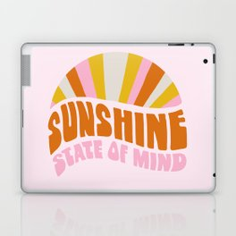 sunshine state of mind, type Laptop & iPad Skin