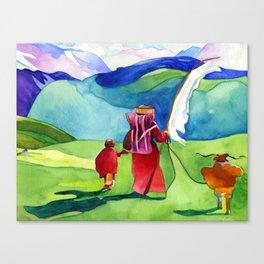 Wind Prayer Canvas Print