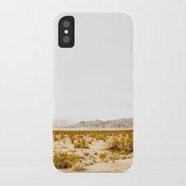 -hot desert- iPhone Case