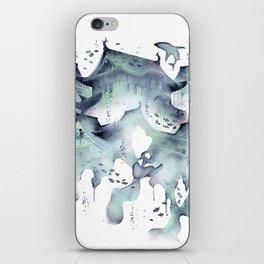 Underwater Temple iPhone Skin